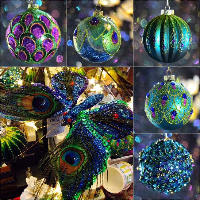 map gift shop this weeks edit our 2015 christmas decoration lookbook - Peacock Christmas Decorations