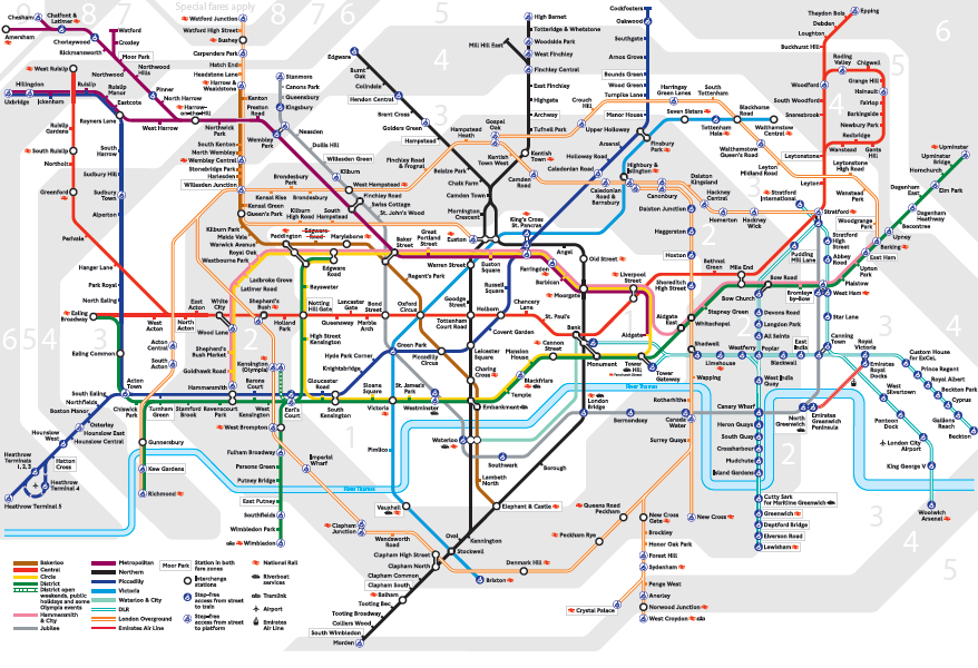 London Tube Rail UrProperty SG
