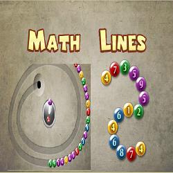 Math Game: Math Lines