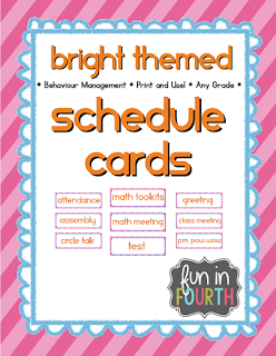 https://www.teacherspayteachers.com/Product/Schedule-Cards-Bright-Theme-1389535