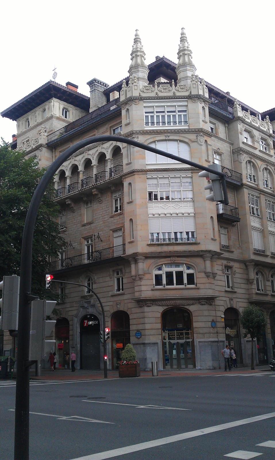 Edificios de bilbao edificio sota casa usher - Casa en bilbao ...