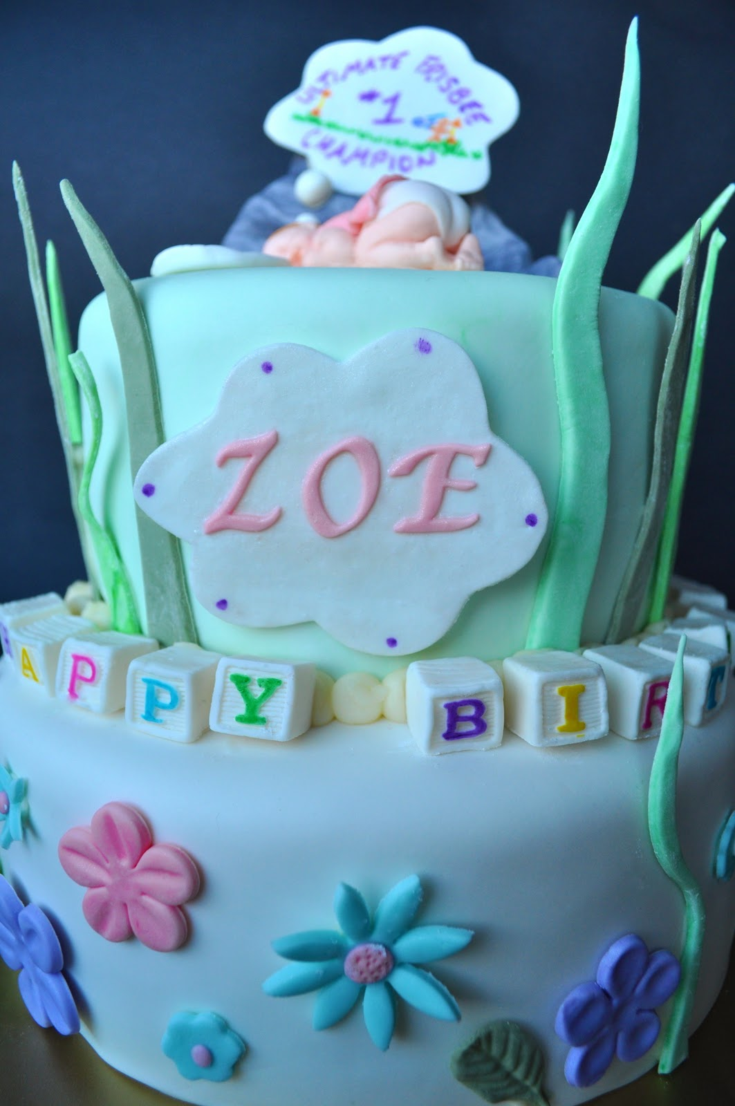 Cakes By Setia Dreaming Baby Cake