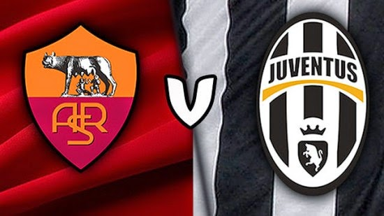 AS Roma vs Juventus Liga Serie A Italia 2015