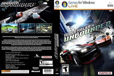 Ridge Racer Unbounded PC DVD Capa