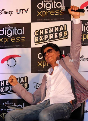 Shahrukh Khan at Chennai Express Game Launch event