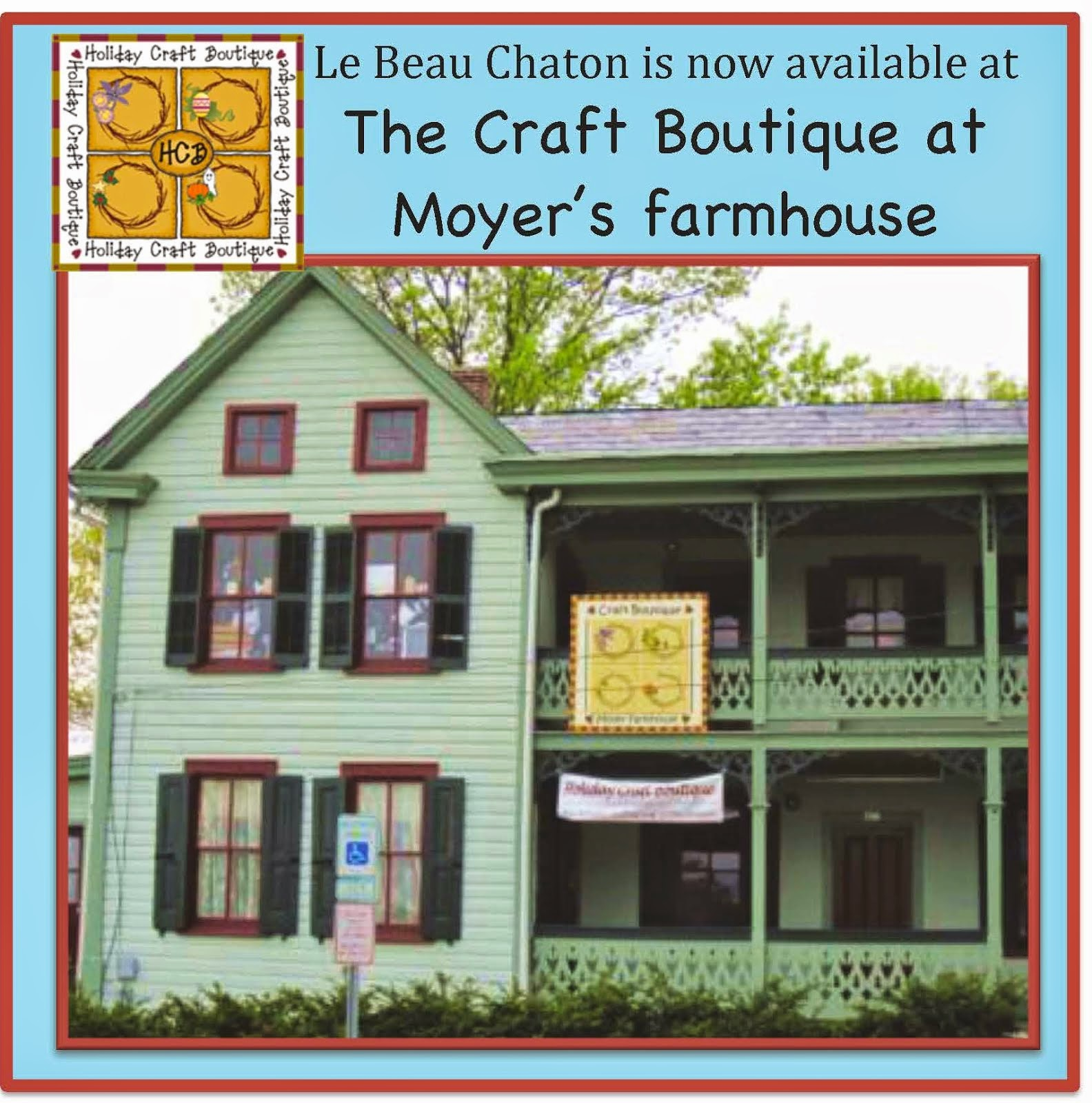 I'm delighted to have my work for sale in the Craft Boutique at Moyers farmhouse