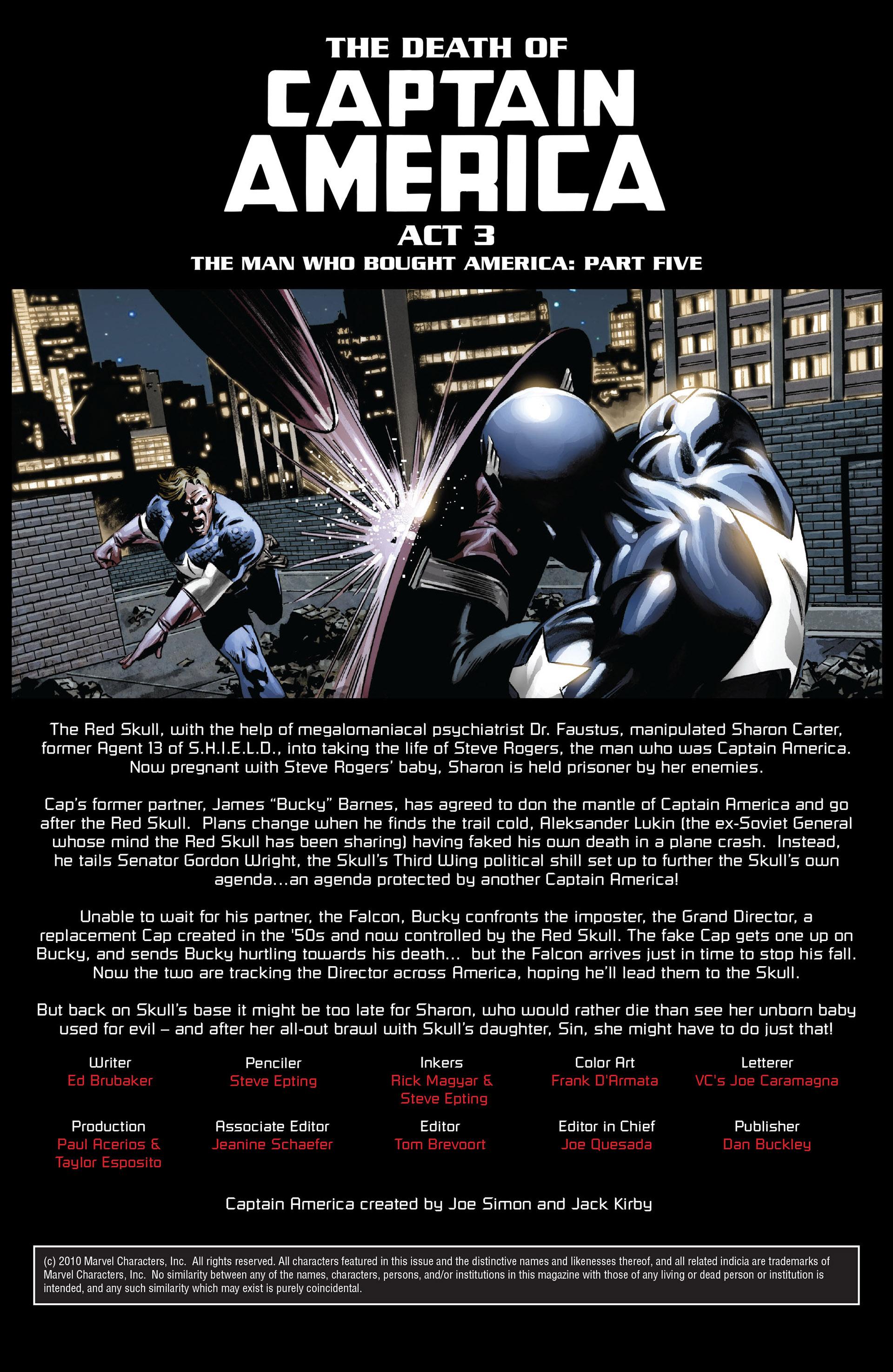 Captain America (2005) Issue #41 #41 - English 2