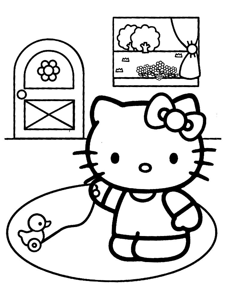 Juegos De Hello Kitty De Pintar. Elegant Juego Hello Kitty Paseo En ...