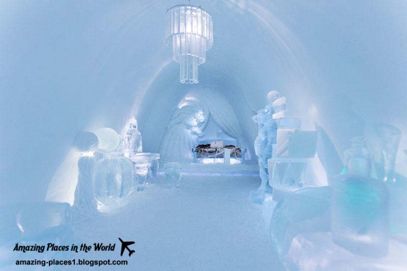 The World 39 S Largest Ice Hotel In Sweden Stunning Places