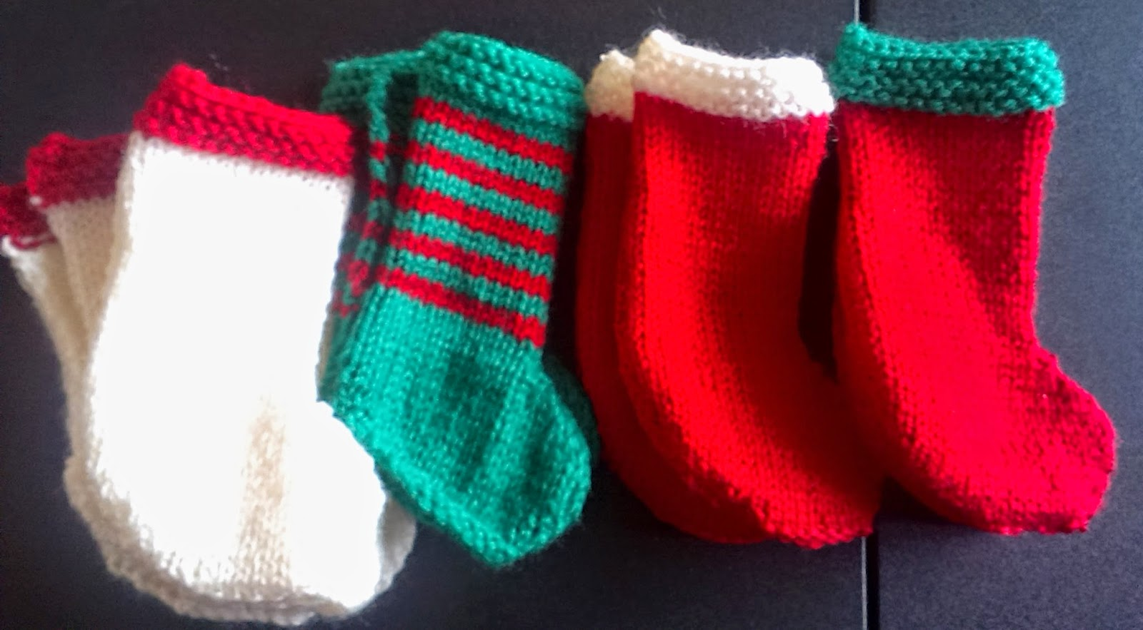 Knitted stockings