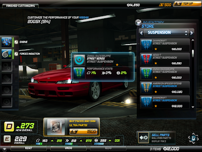 Need For Speed World - Performance Shop