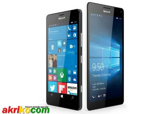 Ponsel Microsoft Lumia 950 dan 950XL Dengan Pendingin Cair
