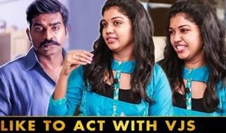 Actress Riythvika Interview | Vijay Sethupathi