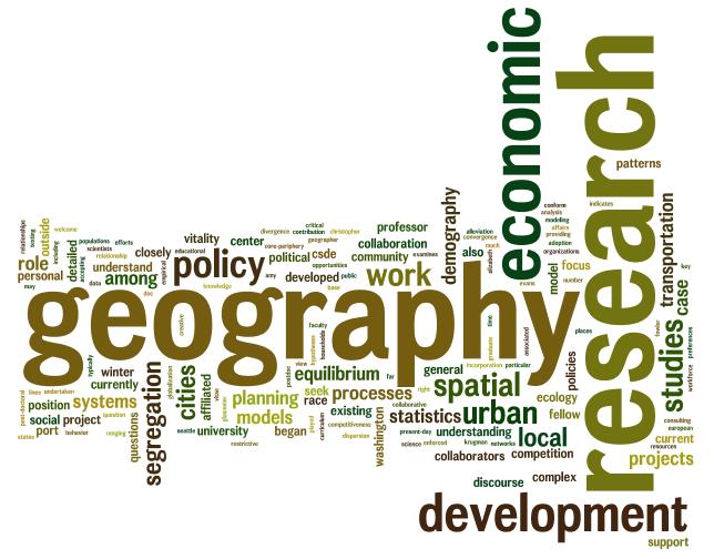 Peranan Geografi Sebagai Sebuah Ilmu