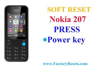 Soft-Reset-Nokia-207