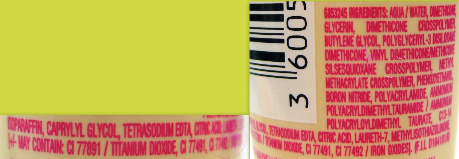 Maybelline - Baby Skin - Il minimizza-pori istantaneo Cool Rose - INCI