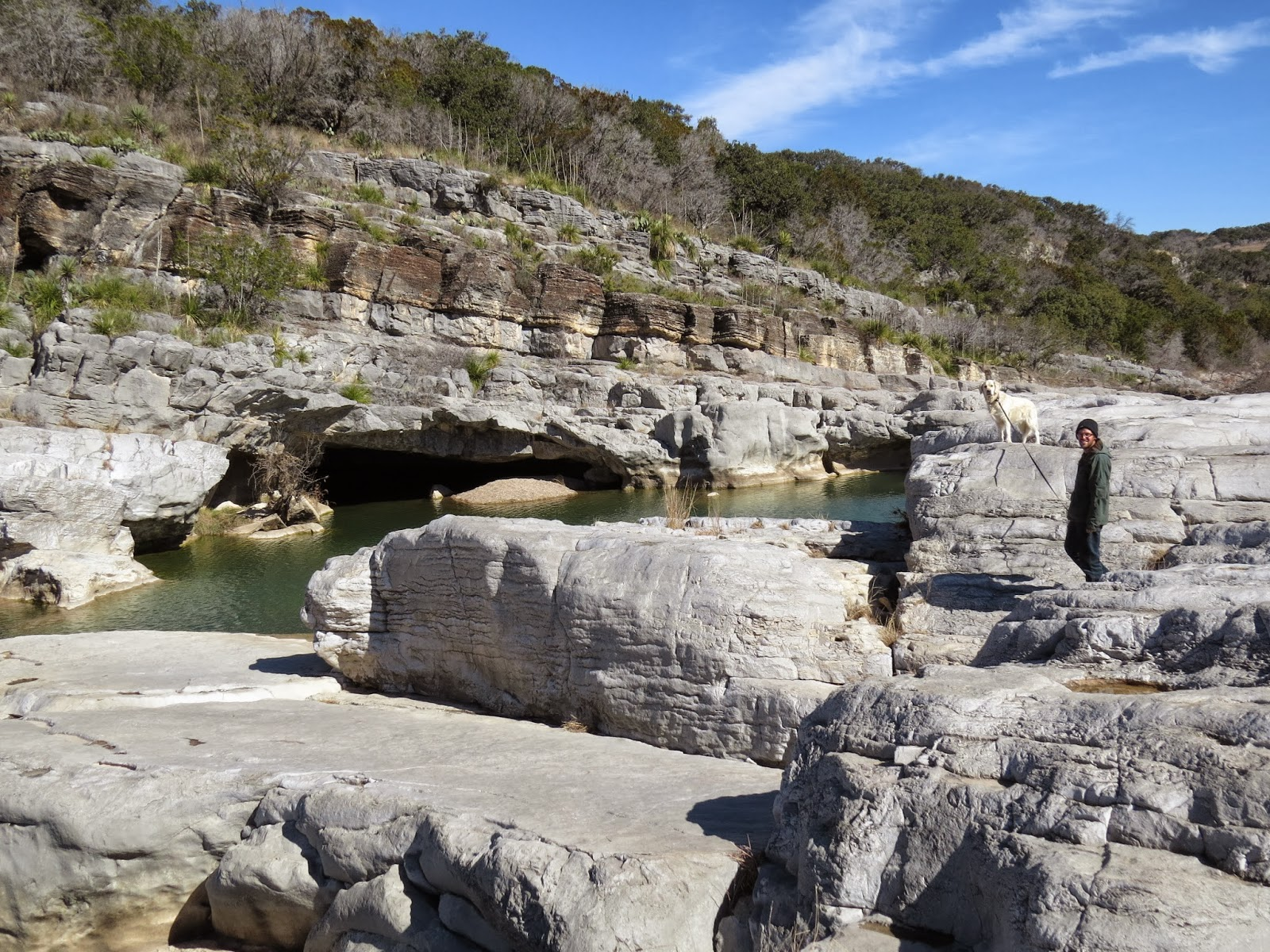 Pedernales Falls - with Boris and Nick
