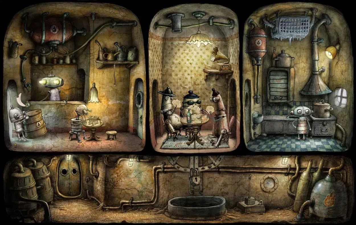 Machinarium v2.0.17 APK+OBB