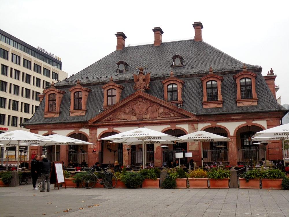 Hauptwache, Frankfurt, by Andie Gilmour