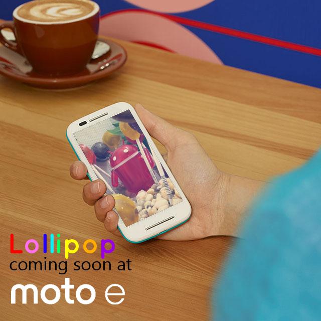 Motorola Moto E juga Akan Mendapat Android Lollipop | Ini Buktinya!
