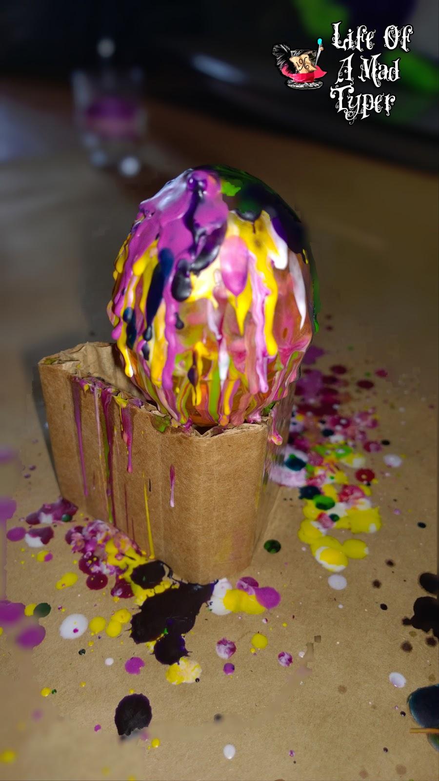 Crayon eggs tutorial