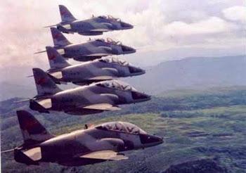 Jet Tempur Hawk 209 TNI AU. Prokimal Online Kotabumi Lampung Utara