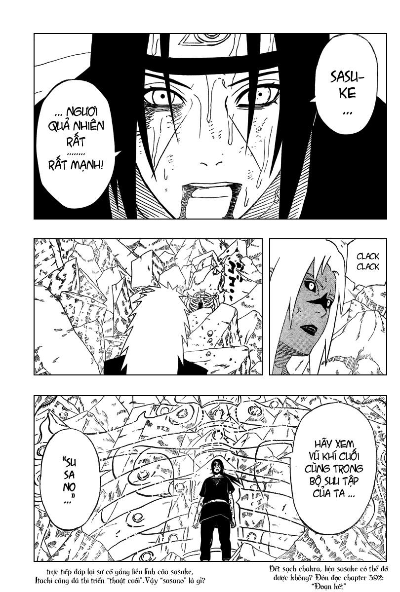 Naruto chap 391 Trang 16 - Mangak.info