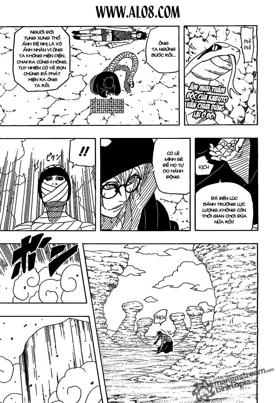 Naruto chap 525 Trang 1 - Mangak.info