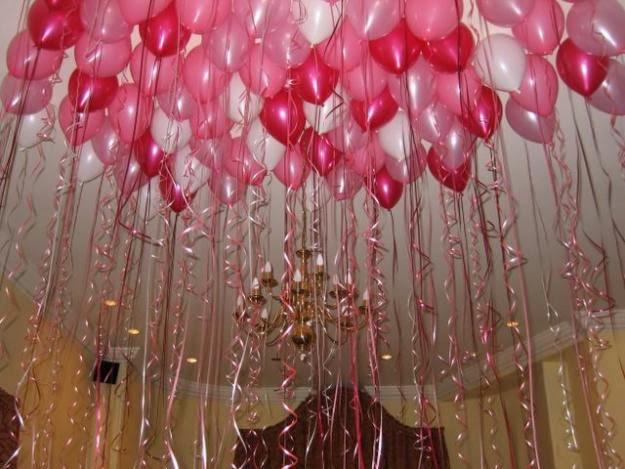 C mo decorar con globos ideas y consejos decoguia tu for Como decorar el techo de mi casa