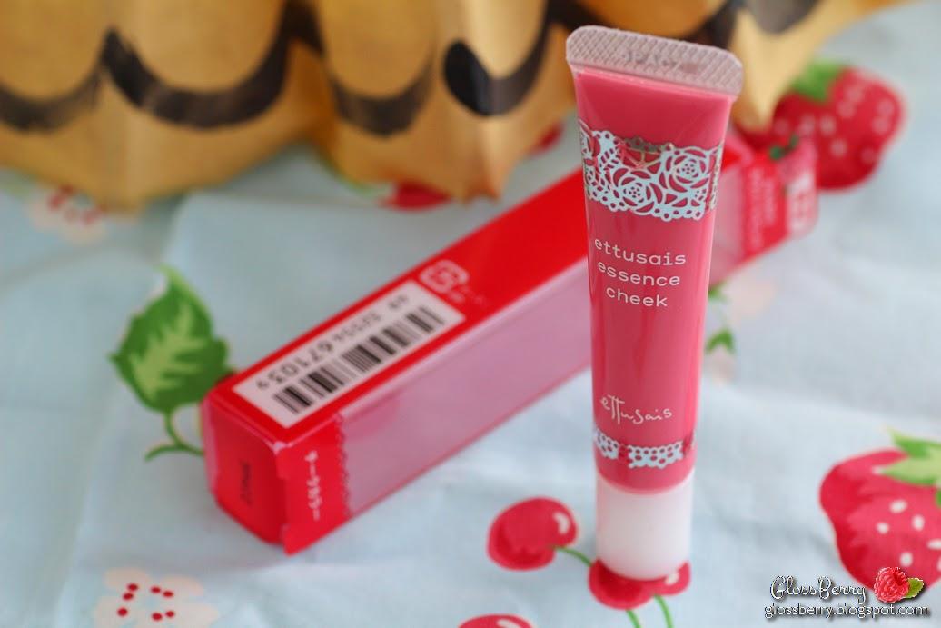 ettusais pink review swatch blush liquid essence cheek סומק נוזלי יפני סקירה בלוג איפור וטיפוח