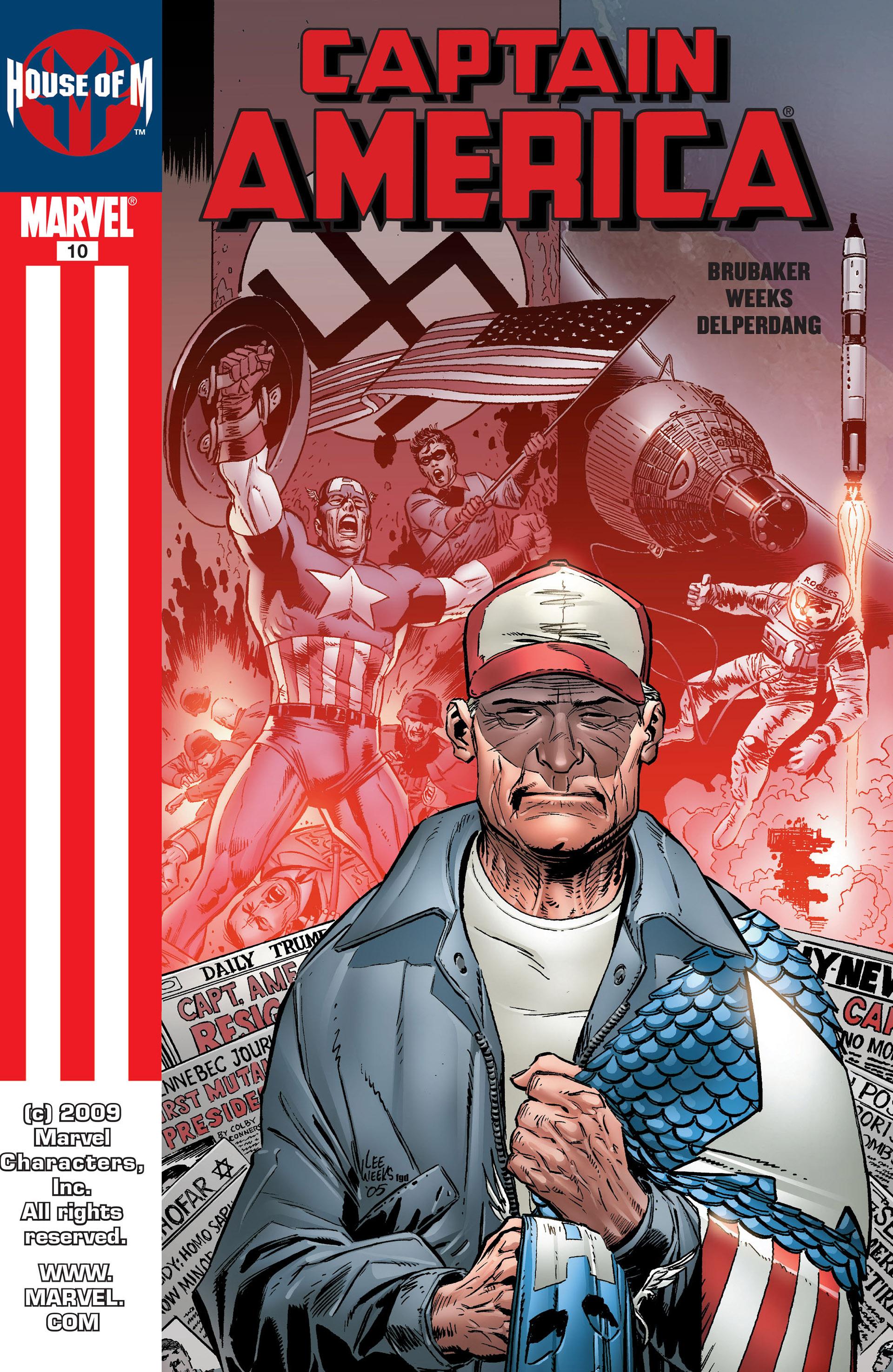 Captain America (2005) Issue #10 #10 - English 1