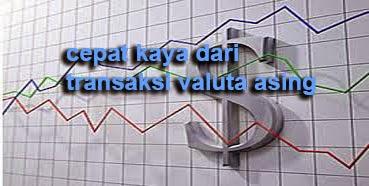 Setiap bangsa dan negara mempunyai mata uang yang berbeda Cepat Kaya Dari Transaksi Valuta Asing