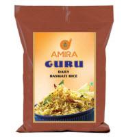Buy Amira GURU Daily Basmati Rice 5kg at Rs. 337 only