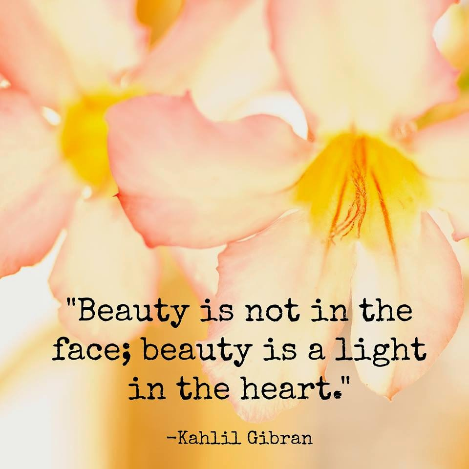 Frase de Kahlil Gibran sobre a Beleza