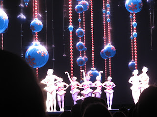 rockettes magical journey beautiful swirling living candy canes with legs a mile long - How Long Is The Radio City Christmas Show