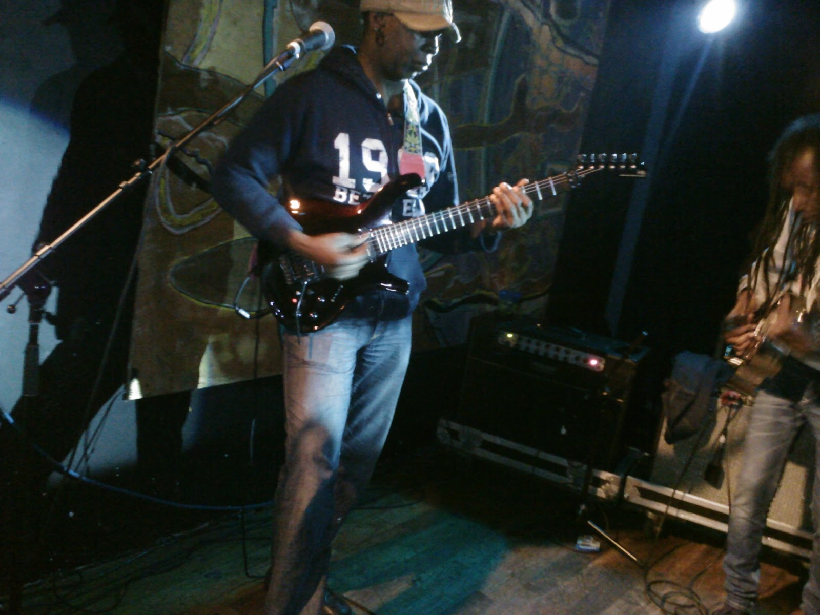Vernon Reid of HeadFake