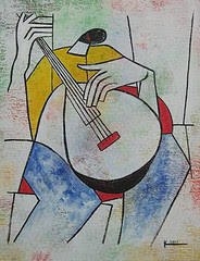 The Guitar Player (Sold)