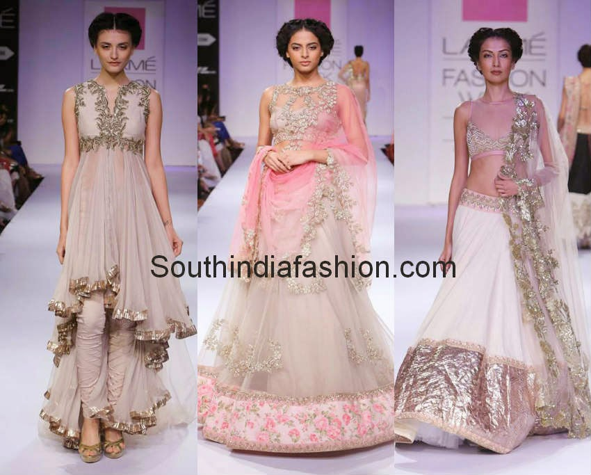 anushree reddy lakme fashion week winter 2014
