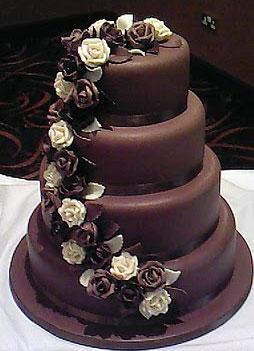 Tasty Chocolate Cake Images : Chocolate Wedding cakes - Wedding Decorations