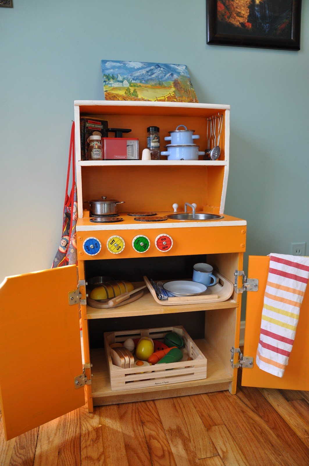 Our Daily Legacy DIY Play Kitchen