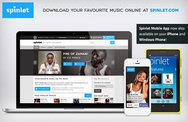 DOWNLOAD YOUR FAVOURITE SONGS VIA SPINLET
