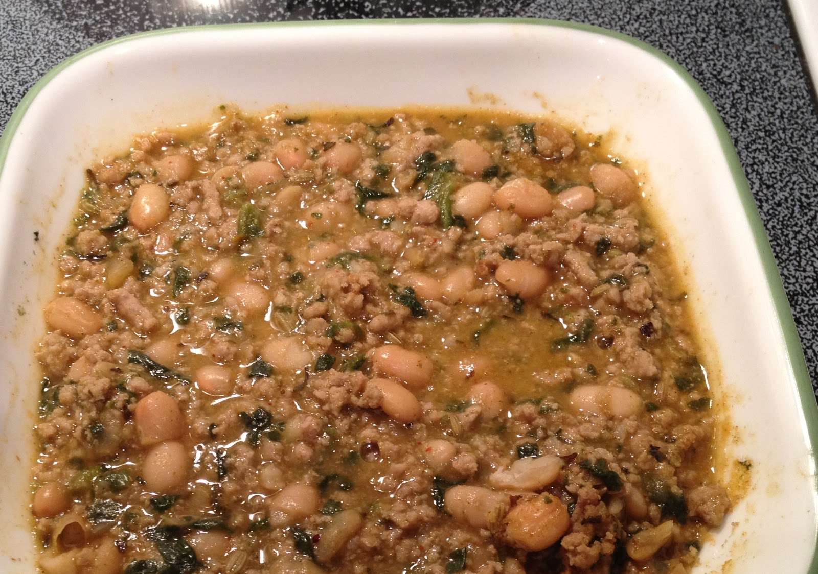 Gluten Free Recipe Archive: White Bean and Ground Turkey Chili