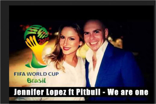 Download lagu pitbull ft jeniffer lopez - we are one (ole-ola) ost piala dunia 2014