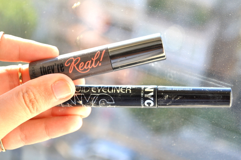 Bitenler - Benefit They're Real, NYC Likit Eyeliner