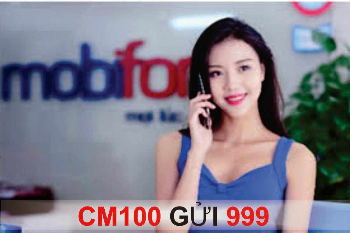 Ưu đãi lớn với gói thoại CM100 của Mobifone