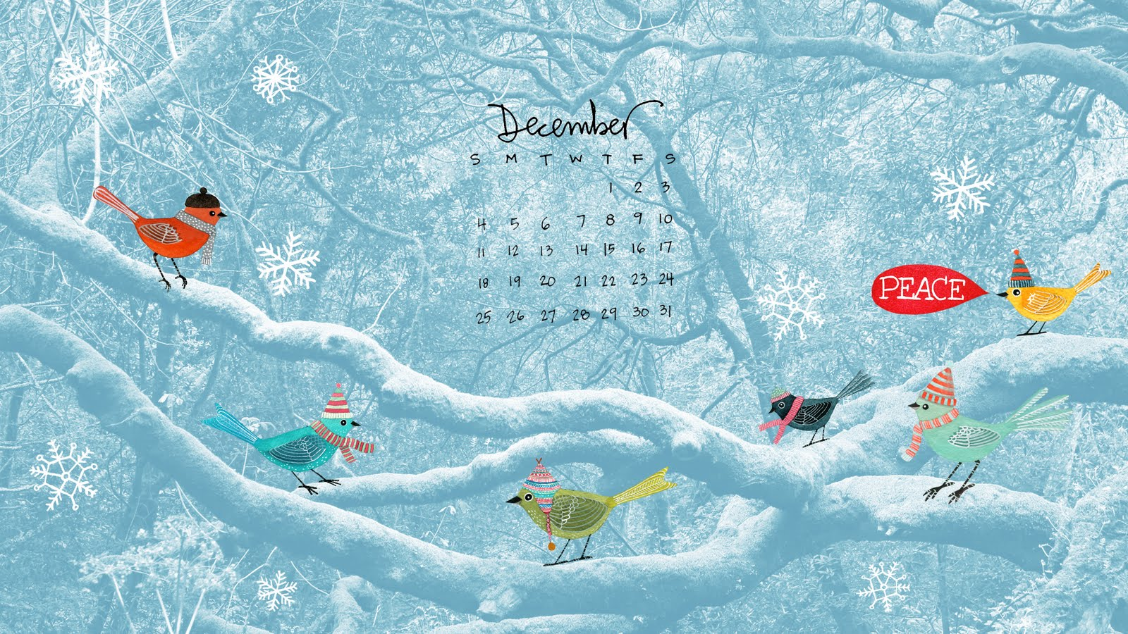 December Calendar Art : Geninne s art december desktop calendar