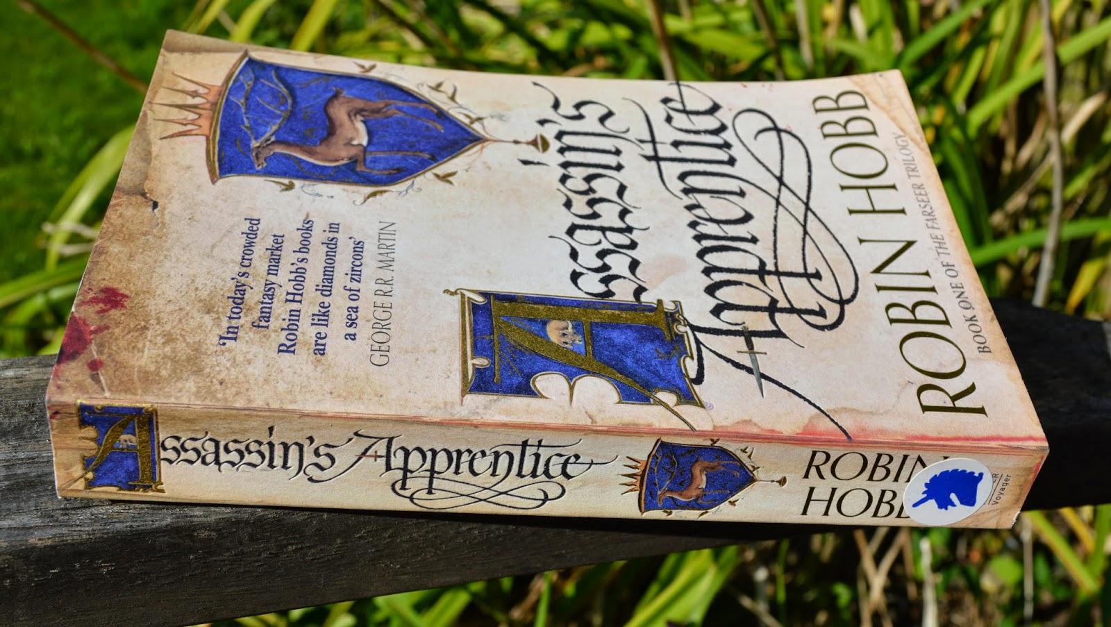 Assassin's Apprentice, Robin Hobb, George RR Martin, fantasy, series, Fitz, review, book