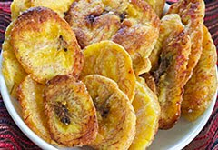 Baked Paleo Plantain Chips w/ Coconut Oil & Sea Salt (Vegan)