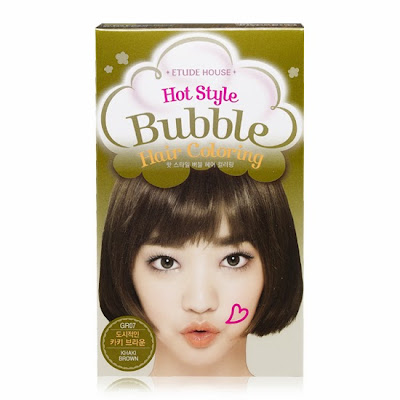 hot style bubble hair coloring etude, pewarna bubble korea, jual etude murah, semir rambut etude, jual etude original, jual semir rambut, chibis etude house, chibis prome