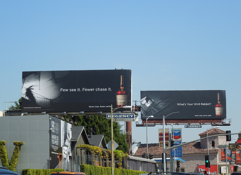 Hennessy Wild Rabbit billboards